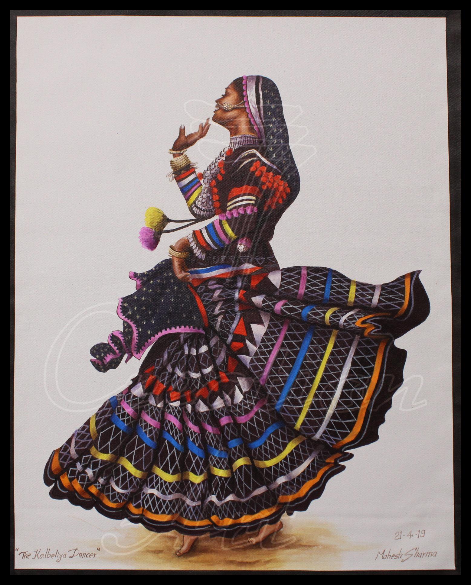 Kalbelia Dancer